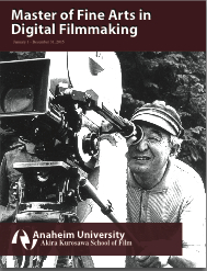 MFA in Digital Filmmaking