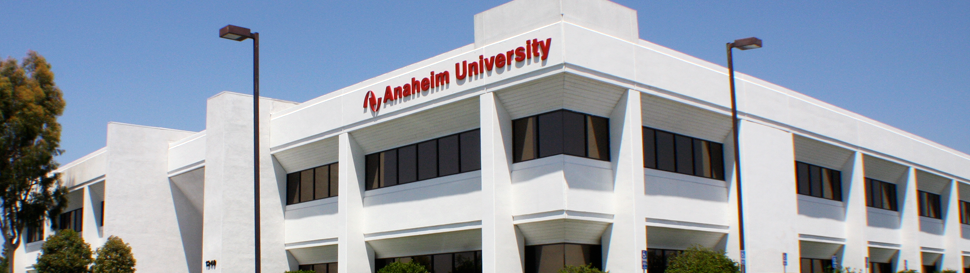 Anaheim University Online Academic Programs