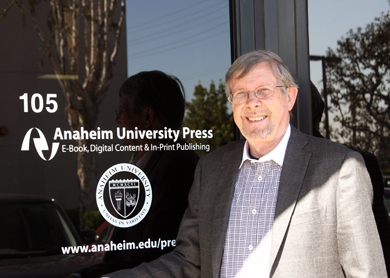 Dr. Rod Ellis at Anaheim University Press
