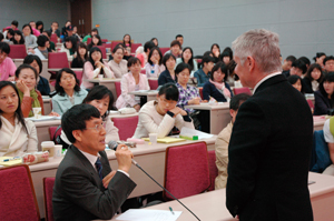Anaheim University's Graduate School of Education launched a three-year alliance with Seoul National University