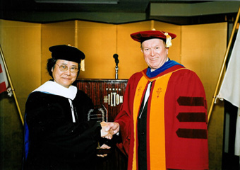 Dr. Kisho Kurokawa and Dr. Clive Grafton